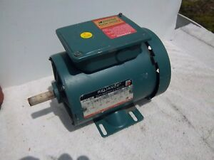 3/4 HP Reliance electric motor 3 phase