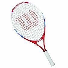 Wilson Junior US Open Tennis Racquet, 23-Inch