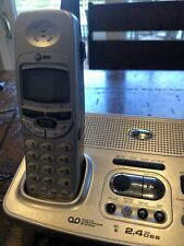 At&T E27227B Answering Machine And Cordless Phone 2.4 Ghz Preowned