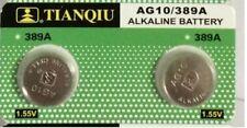2x New AG10 LR1130 389 390 189 L1131 LR54 D389 Alkaline Button Cell Battery 2020