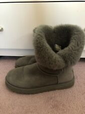 UGG Australia Bailey Bling Boots Womens Size 10 Gray