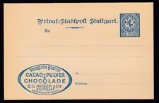1 Postal Card, Stationery European Stamps