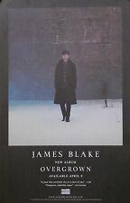 JAMES BLAKE, OVERGROWN POSTER  (I1)