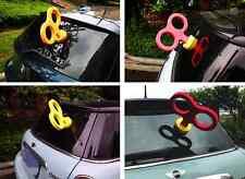 Hot Sell Car Ornament Exterior Deco Windup Rolling Key Cute Turn Key EVA KAWAII