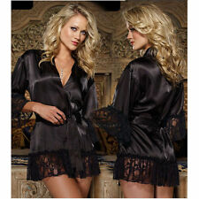 Womens Lace Dress Chemise Lingerie Babydoll Underwear Sleepwear Robe G-string