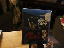 The Evil Dead 1 & 2 ~ Double Feature ~ Bruce Campbell ~ Movie ~ Blu-ray Disc