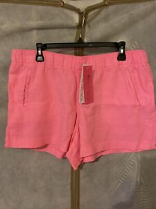NWT Lilly Pulitzer Lilo Short Prosecco Pink XL Free Ship