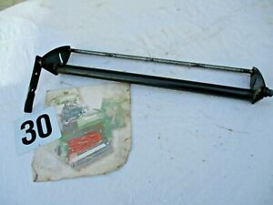 FRONT ROLLER SUPPORT AXLE BAR ROD ATCO QUALCAST CLASSIC CYLINDER 43S 17 INCH