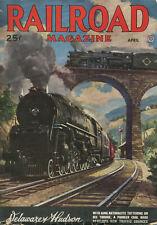 Railroad Magazine, April 1947 issue