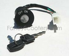 Ignition SWITCH (4 wires) for Gas Scooters All Brands