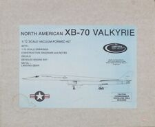 Contrail 1:72 North American Xb-70 Valkyrie Vacuum-formed Model Kit #Xb70U