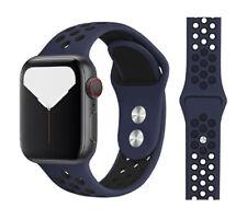 Correa Apple Watch Series 1 2 3 4 5 6 colores pulsera deporte 42-44mm 38-40
