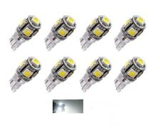 8x Ampoules LED T10 W5W 24V Canbus 5 SMD Blanc 6000K Camion 4x4 Bateaux