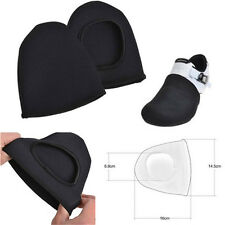 2Pcs Unisex Black Bike Bicycle Cycling Shoe Toe Cover Overshoes Warmer Protector