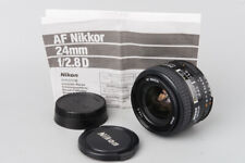 Nikon AF Nikkor 24mm f/2.8 f2.8 D Wide Angle Auto Focus Lens