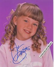 """JODIE SWEETIN of """"FULL HOUSE"""" IN PERSON SIGNED 8X10 COLOR PHOTO """"PROOF"""""""