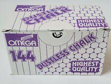 122 pcs OMEGA Dustless chalk - White