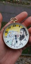 THEODOR HERZL DOXA KUGELUHR TASCHENUHR POCKET WATCH JEW ISRAEL THORA