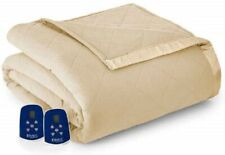 Shavel Sherpa Electric Blanket King - Chino - NEW