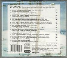 Chantal Konzertante Weihnachtsmusik aus 9 Ländern  24 Karat Zounds Gold CD