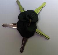 5 Key Pack Bosch Master keys 14607 Ignition Keys Manitou Jcb Hatz