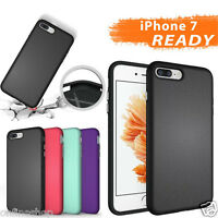 2 in 1 Shockproof Hybrid Rugged Rubber Protective Case Cover for iPhone 7/7 Plus