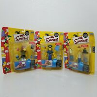 Lot of 3 - Officer Marge Cletus Dolph The Simpsons World of Springfield Series 7