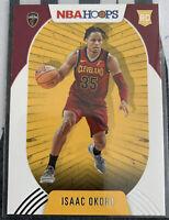 ISAAC OKORO 2020-21 Panini NBA Hoops #244 Rookie Card Cavaliers🔥🔥