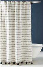 New Anthropologie Home Rio Shower Curtain