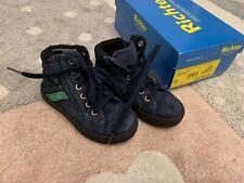 ✨ TOP: Richter - Schuhe Sneaker Gr. 25 blau Reißverschluss gefüttert Winter ✨