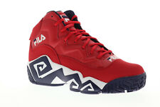 Fila Mb 1BM00510-616 para hombre rojo altas con cordones zapatos para baloncesto atlético gimnasio