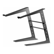 More details for thor cs001 dj laptop stand black metal notebook controller support