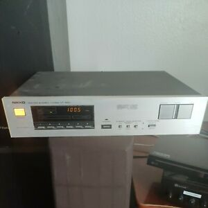 VINTAGE NIKKO NT-990 AM/FM Stereo  TUNER Quartz Lock TESTED AND WORKING