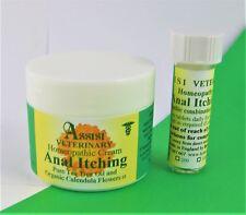 perro/Gato ANAL prurito Glándula Homeopatía Kit - Crema 50gm&120 comprimidos