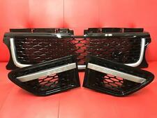 Range Rover Sport 2010-2013 Gloss Black Autobiography Front Grille & Side Vents