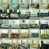 1 2 3 4 Seater Sofa Covers Stretch Couch Elastic Slipcover Wrap Protector Home