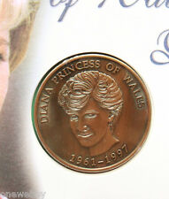 1997 Princess Diana of Wales Cover & Medallion SNo45430