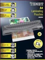 100x Texet A4 Laminating Pouches Laminator Sheets Sleeves Pockets 150 Micron