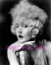 MAE MURRAY 8X10 Lab Photo B&W 1920's Beauty Angelic Bejeweled Headpiece RARE