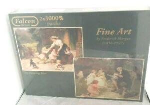 FALCON 2 x 1000 Pieces Jigsaw Fine Art Frederick Morgan 1856-1927 NEW SEALED
