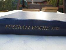 FU100 FUWO 1982 GEBUNDEN FUßBALLWOCHE DDR OBERLIGA DFV Sport Fußball UNVOLLST.
