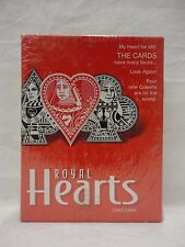 Royal Hearts Card Game 2001 Parker Brothers New Factory Sealed Q1