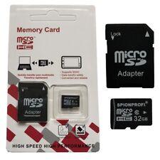 32GB MICRO SD SDHC CLASS10 SPEICHER KARTE + KARTENADAPTER UNIVERSAL GEEIGNET Z51