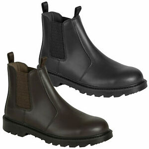 Mens Hoggs Of Fife Classic Dealer Safety Steel Toe/Midsole Boots Sizes 7 to 12