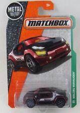 Metal Parts MATCHBOX Malibu Marauder  MBX Explorers 107/125 3+