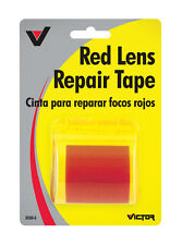 "VICTOR Lens Repair RED Tape 1-7/8"" x 60"" Self Adh BROKEN Car Vehicle Rear Lights"