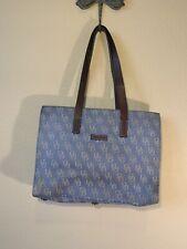 Dooney & Bourke Handbag East/West Tote Blue denim