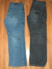 2 mens Jeans 36 x 32 36x32 ~ denim pants Axel relaxed straight slim straight