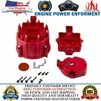 GM HEI Distributor Red Cap Rotor For Chevy SBC BBC replacement 65000 Coil volt