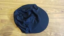 New Charles Owen Size Small Black Lycra Silk